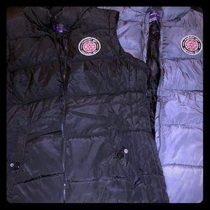 Madden Girl Puffer Vests - size Large
